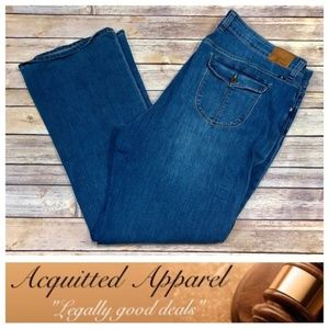 Lucky Brand Plus Size Ginger Boot Cut Jeans Long